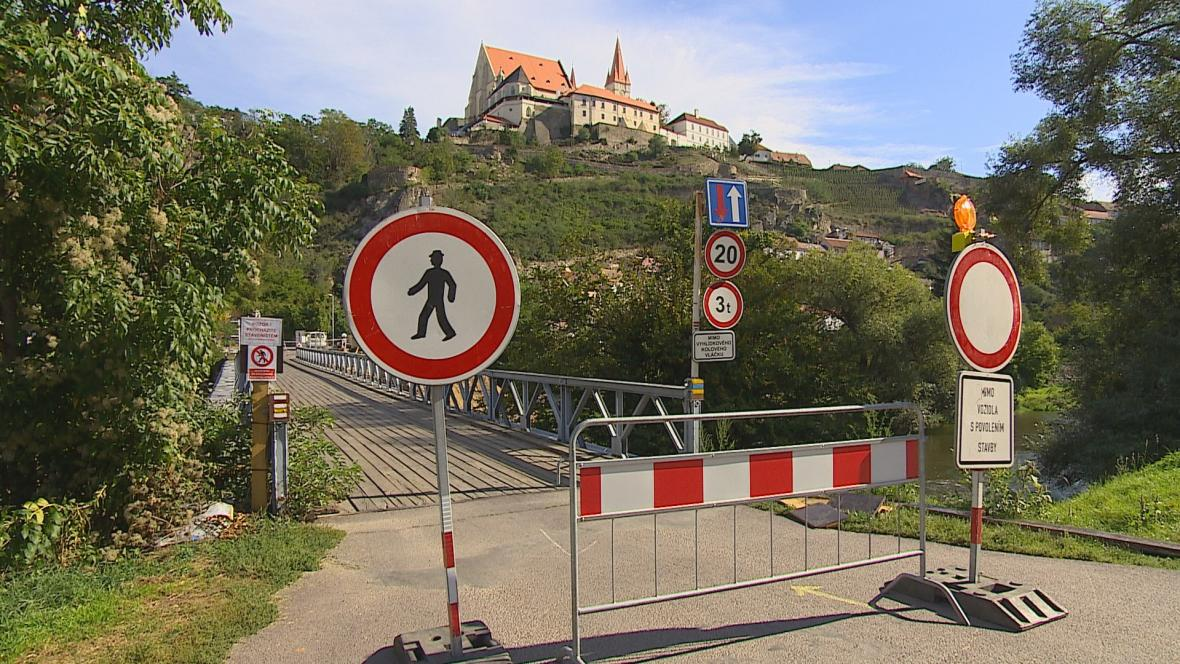Rekonstrukce mostu ve Znojmě