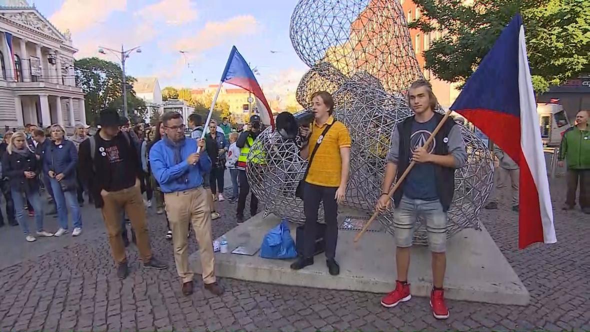 Akce Kroky pro demokracii v Brně