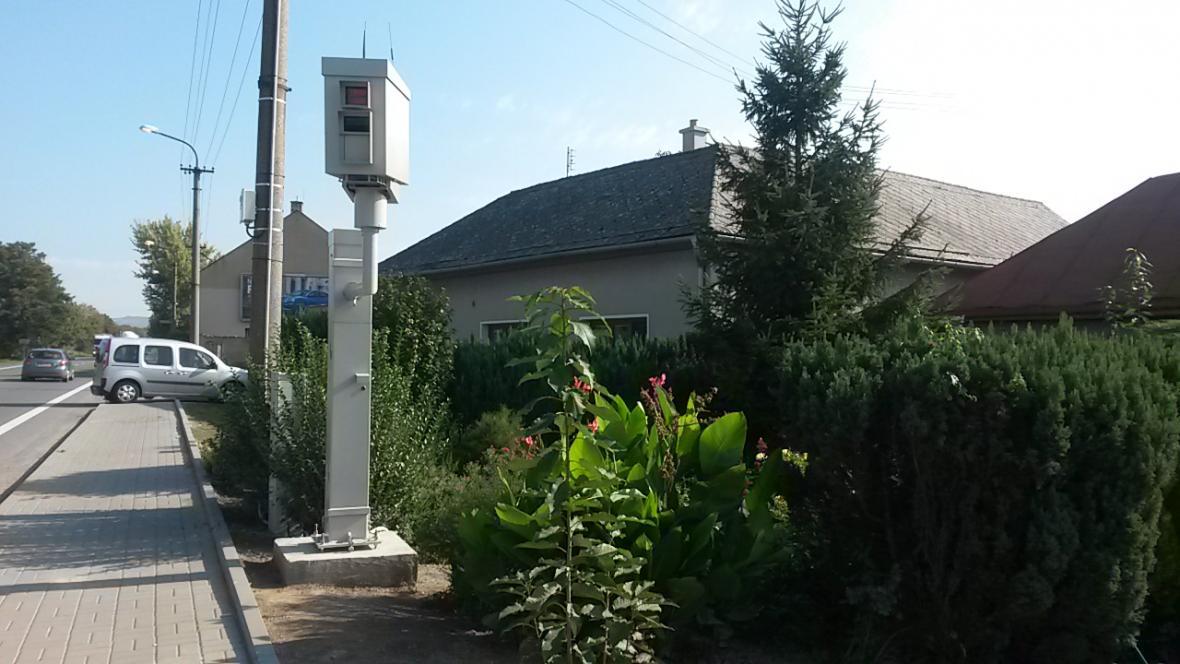 Radar v přerovské části Lýsky
