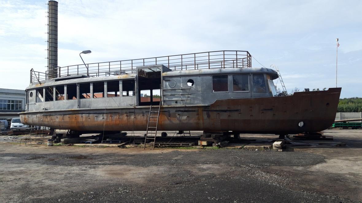 Loď Dallas