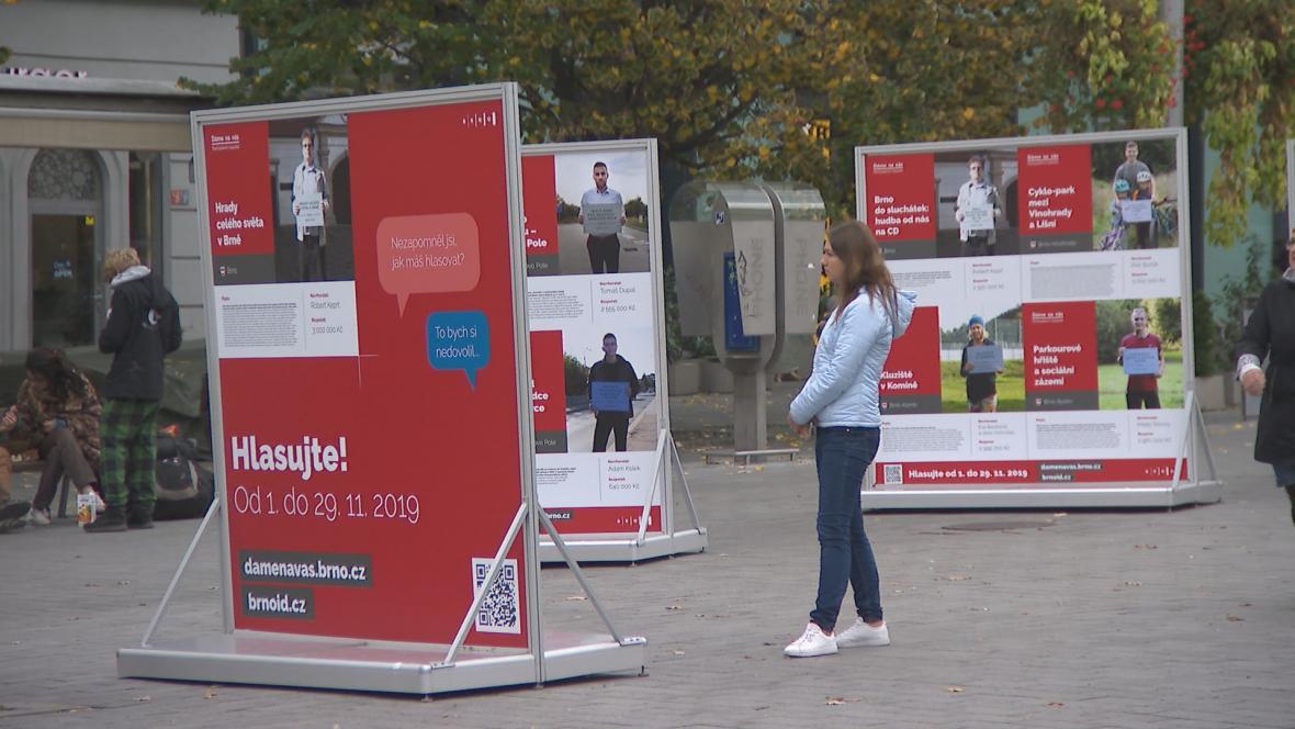 Projekty participativního rozpočtu v Brně