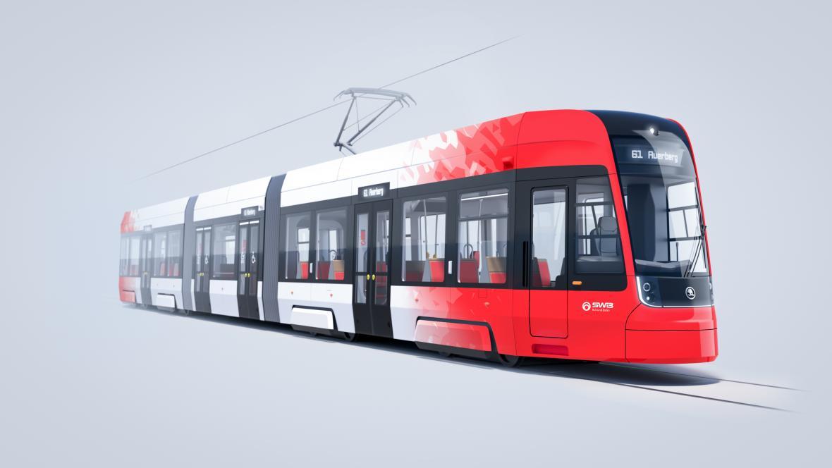 Tramvaj Škoda Transportation pro Bonn