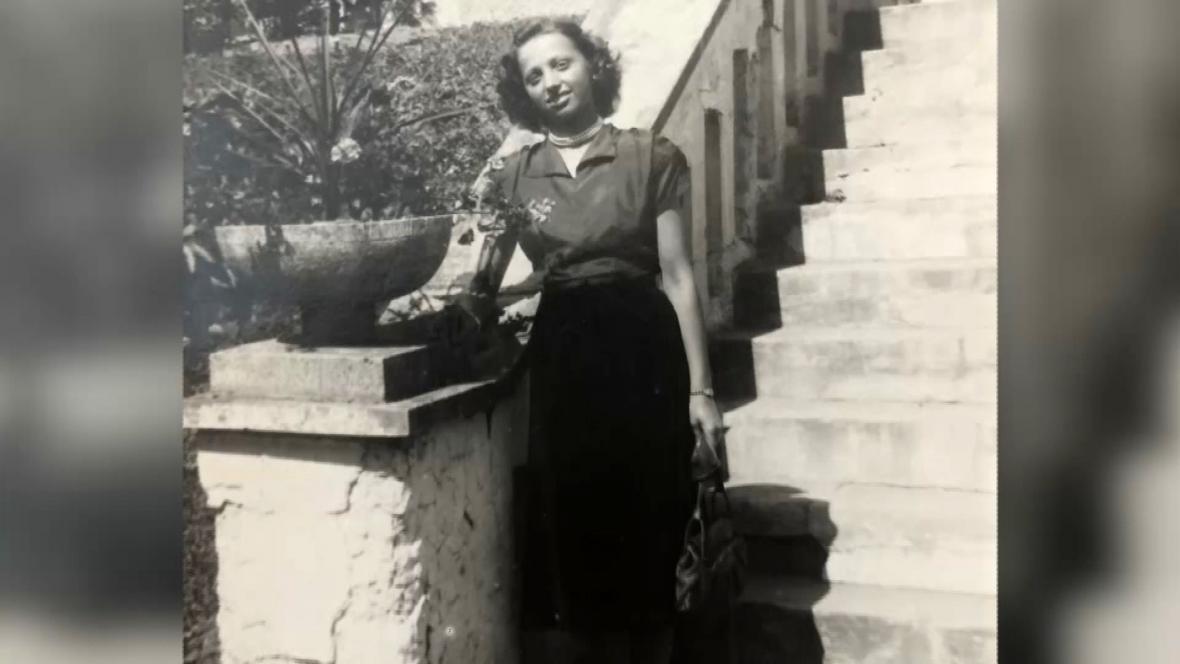 Dagmar Chroustová v roce 1948