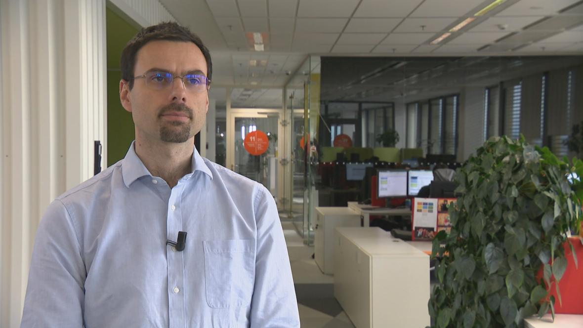 Generální ředitel Avastu Ondřej Vlček