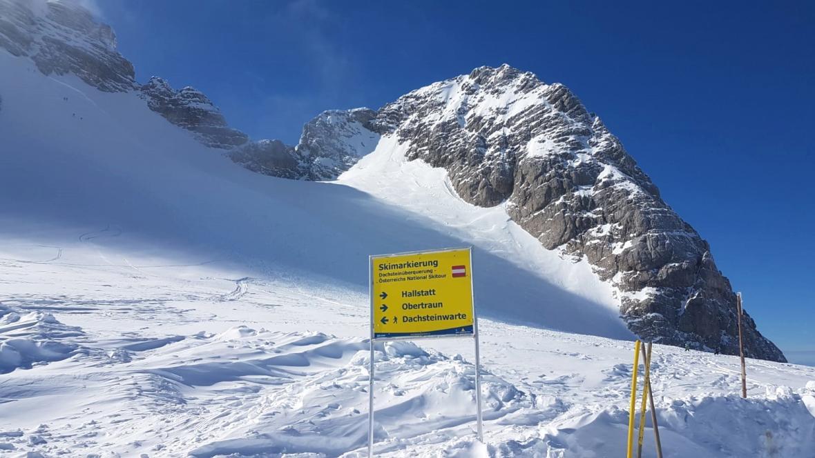 U Dachsteinu zasypala lavina pět českých turistů
