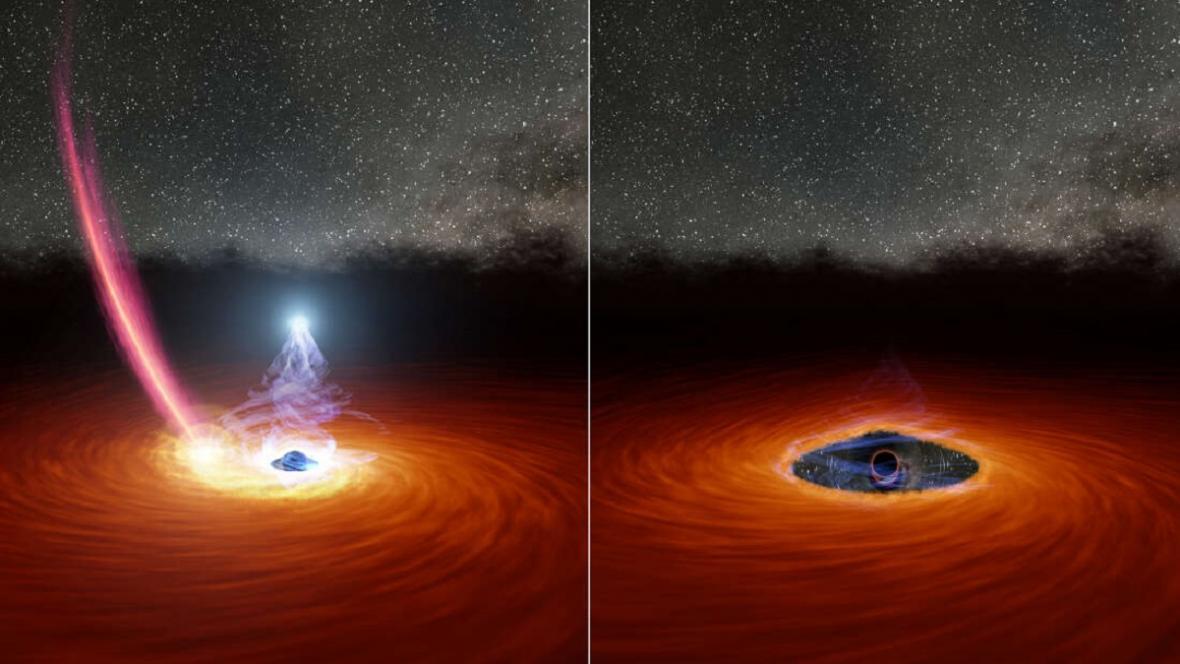 Mizení černé díry