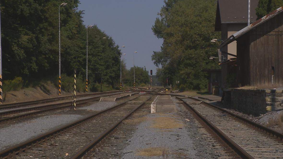 Železniční trať z Vidnavy do Velké Kraše