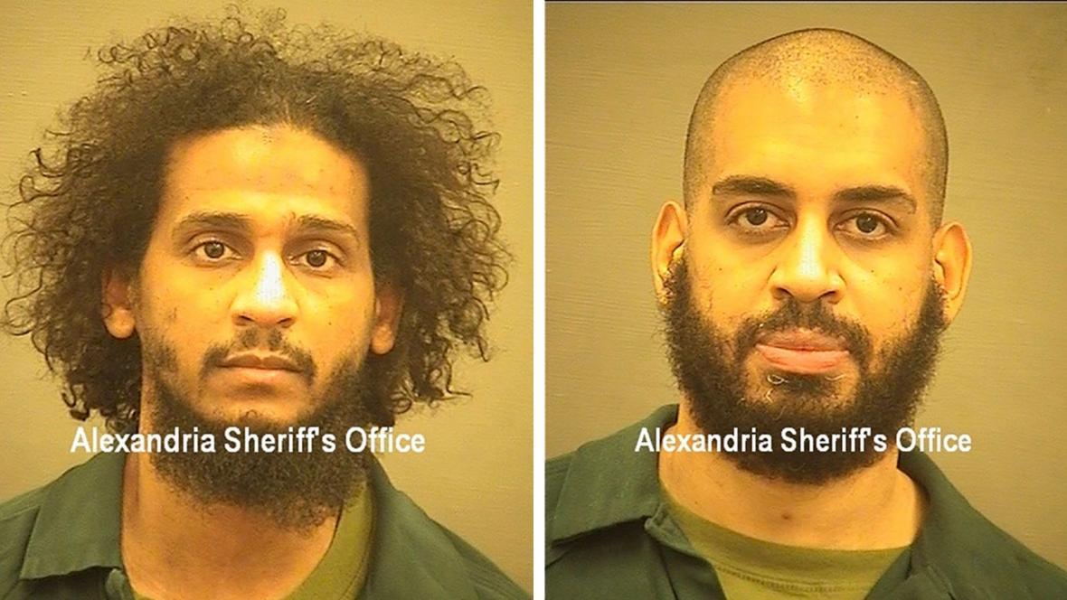 Obvinění džihádisté Alexanda Kotey a El Shafee Elsheikh