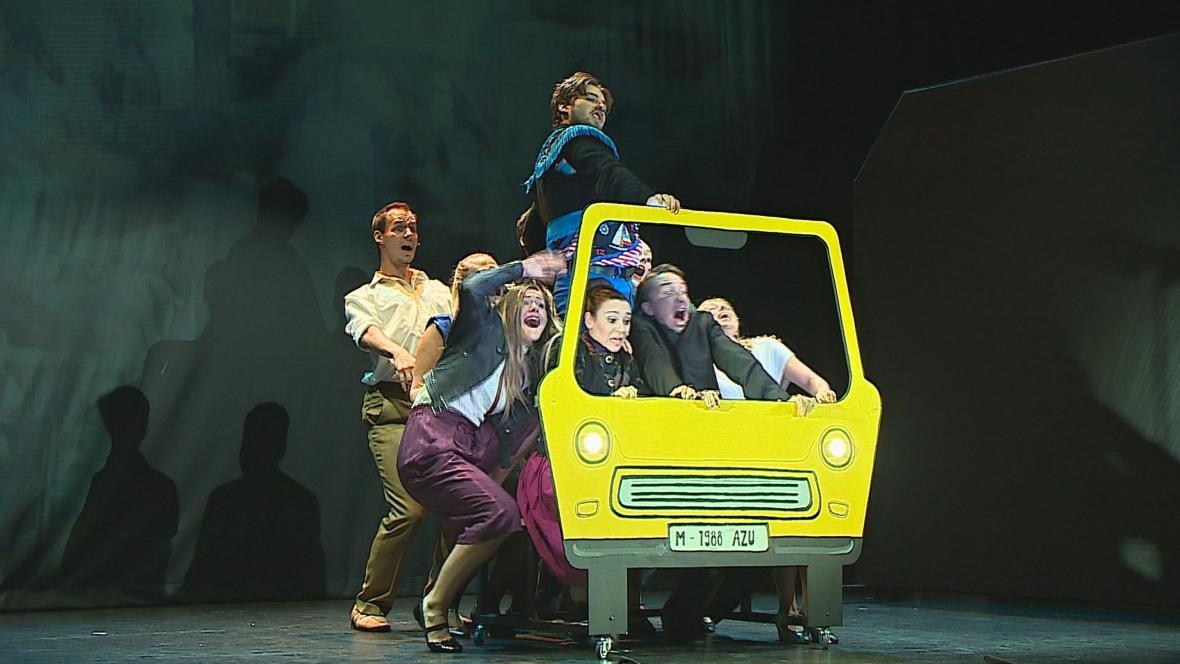 Divadelní představení studentů JAMU ( září 2020)