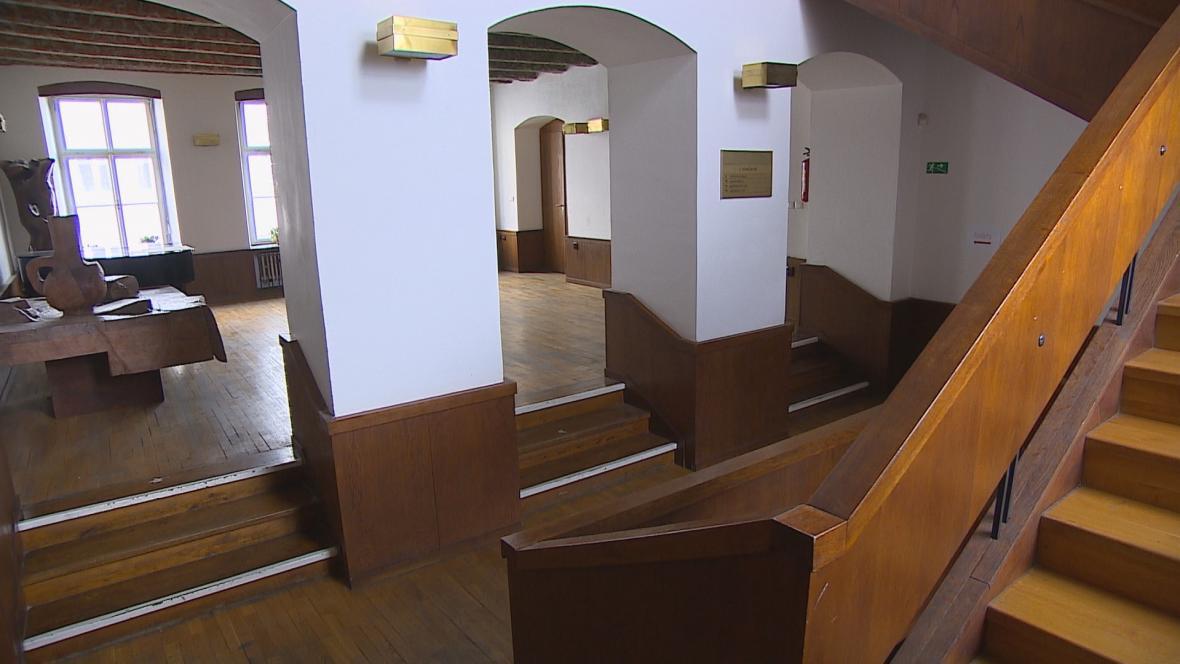 Interiér domu v Radnické ulici v Brně