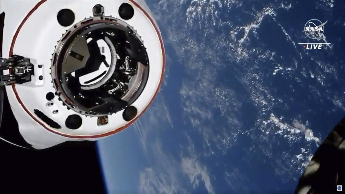 Crew Dragon u ISS