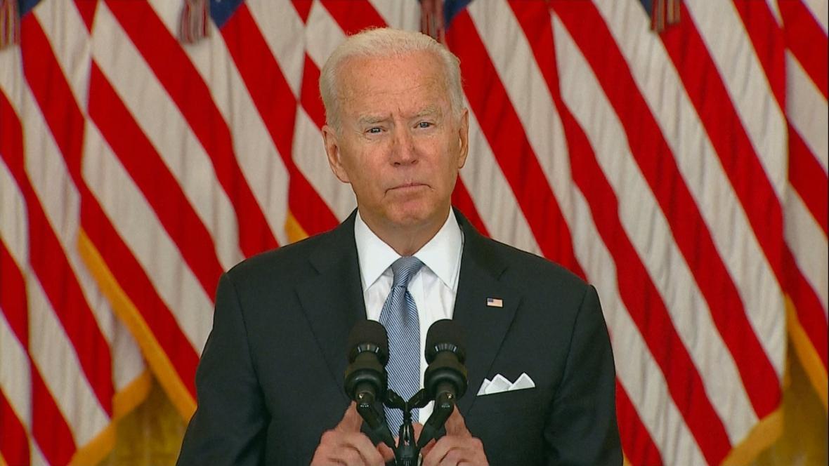 Americký prezident Biden k situaci v Afghánistánu
