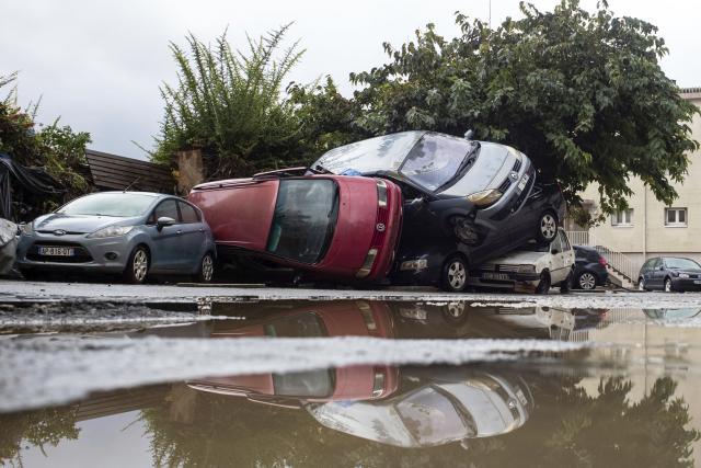 Bleskové záplavy na jihu Francie