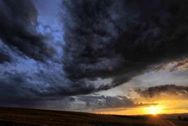Obloha po bouřce u Jihlavy
