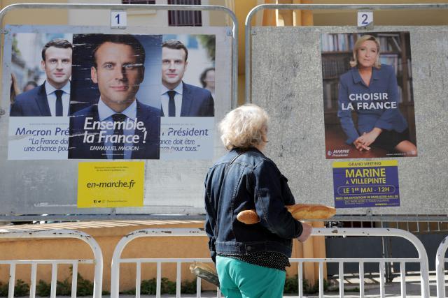 Předvolební kampaň ve Francii