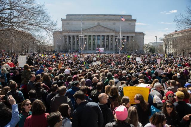 Pochod za naše životy v hlavním městě Washingtonu