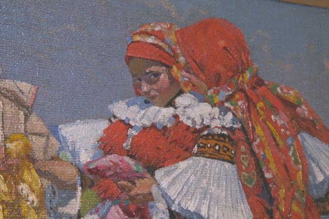 Na výstavě v Holešově se potkává dílo bratrů Uprkových