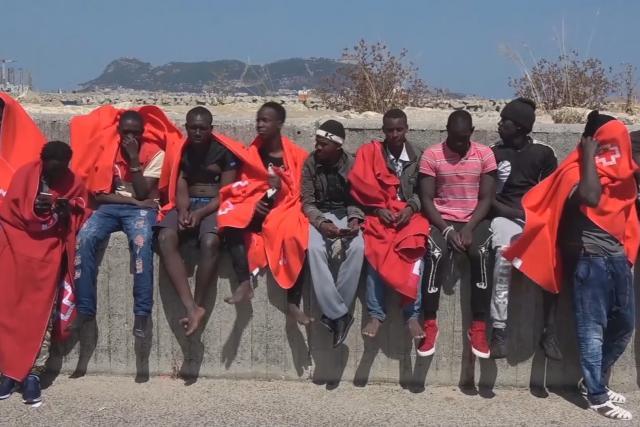 Afričtí migranti ve Španělsku