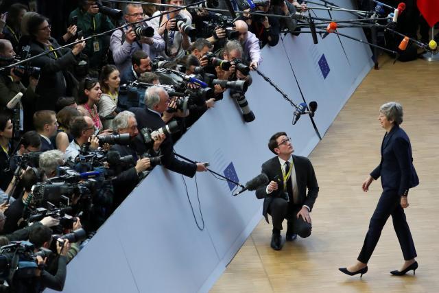 Britská premiérka Theresa Mayová před summitem
