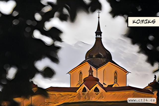 Opravený poutní kostel na Zelené hoře se otevřel veřejnosti