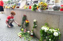 Vzpomínka na oběti útoku v Mnichově