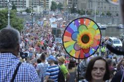 Průvod hrdosti na Prague Pride