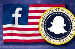 Americké volby na sociálních sítích
