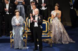 Švédský král na předávání Nobelových cen ve Stockholmu