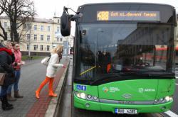 Autobus v Ústeckém kraji
