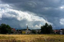 Nový Jičín před bouřkou