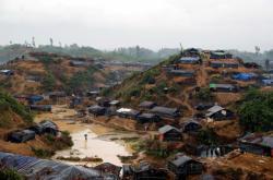 Tábor uprchlých Rohingů