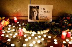 Pieta za zavražděnou novinářku