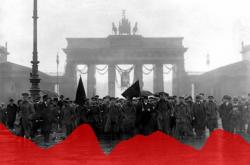 Spartakovská demonstrace v Berlíně