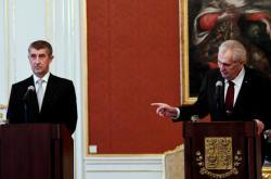 Slavnostní ceremoniál na Pražském hradě