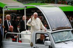 Papež František na návštěvě Chile