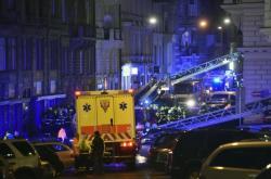 Požár pražského hotelu Eurostars