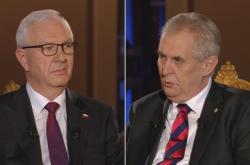 Prezidentský duel Jiřího Drahoše a Miloše Zemana