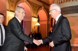 Miloš Zeman a Jiří Drahoš