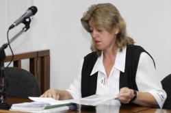 Soudkyně Dana Sedláková