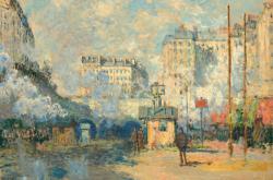 Claude Monet / Nádraží Saint-Lazare