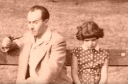 Karel Vaš s dcerou Galinou