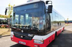Autobus SOR Dopravního podniku hl. m. Prahy