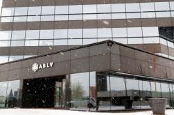 Sídlo banky ABLV v Rize.