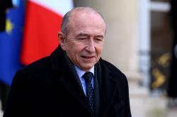 Francouzský ministr vnitra Gérard Collomb