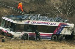 Nehoda autobusu u Nažidel
