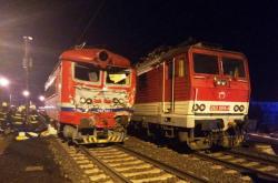 Nehoda vlaků u Pezinku