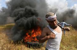 Palestinské protesty se zvrhly v násilnosti