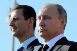 Syrský prezident Bašár Asad a ruský prezident Vladimir Putin