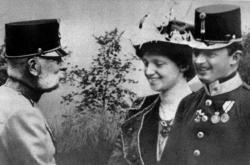 František Josef I., Karel I. a jeho žena Zita