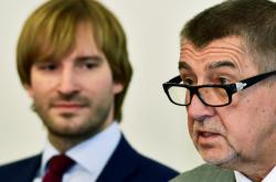 Adam Vojtěch a Andrej Babiš